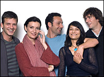 The cast of This Life, 2006