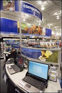 Computer shop. Image: AP