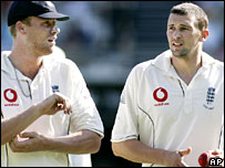 Flintoff and Harmison