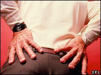 Lower back pain (Science Photo Library/ Oscar Burriel)