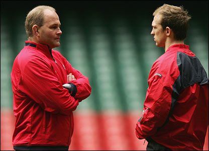 Andy Robinson and Matt Dawson