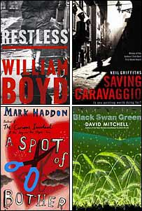 The four novels nominated for the 2006 Costa Novel Award
