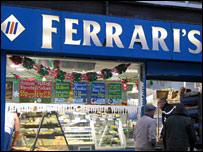 Ferrari's in Newport