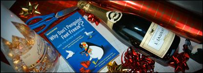 Christmas wrapping preparation