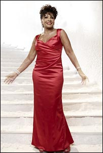 Dame Shirley Bassey in M&S Christmas ad