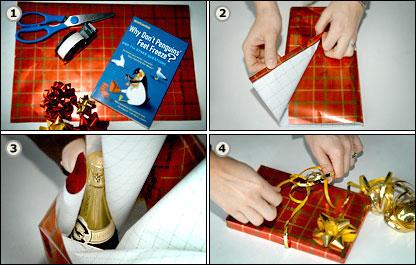 How to wrap, four steps