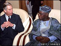 Prince Charles in Nigeria