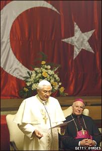 El Papa Benedicto XVI en Turquía