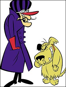 Dick Dastardly and Muttley (credit: Boomerang)