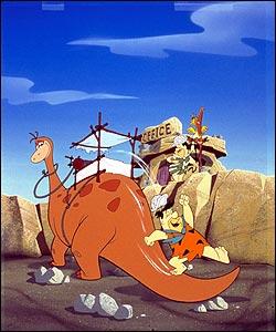 Fred Flintstone (credit: Boomerang)