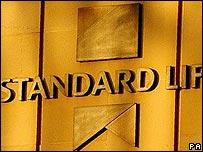Logo outside Standard Life's Edinburgh headquarters
