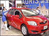Toyota's Auris car