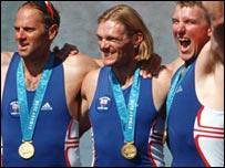 Steve Redgrave, Foster and Matthew Pinsent