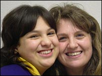 Misbah and her mother Louise