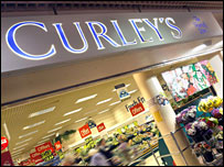 Curley's shop front