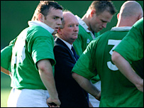 Brian Ashton had a spell coaching Ireland