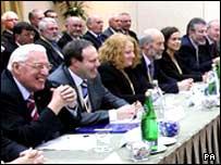 Politicians at St Andrews talks