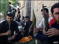 Mehdi Army members in Basra