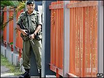 Fijian soldier on 14 December 2006