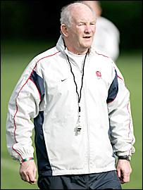 England head coach Brian Ashton