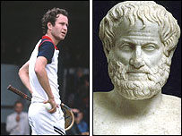 John McEnroe and Aristotle