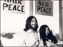 John Lennon and Yoko Ono
