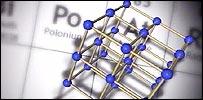 Graphic of Polonium 210 molecule