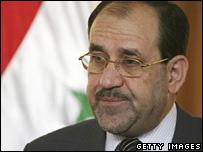 Iraqi Prime Minister Nouri Maliki