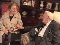 Ian Paisley met Mrs McVeigh last November
