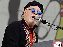 Procol Harum singer Gary Brooker