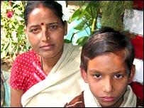 Geeta Srivastava with Suraj