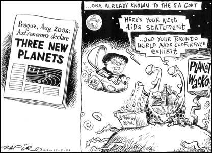 Cartoon by Tayo Fatunla