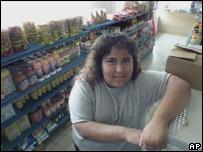 Almacén de alimentos mexicanos en EE.UU.
