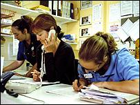 Hospital clerks