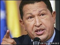 Hugo Chavez (File: 5 December 2006)