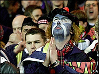 A Scottish football fan