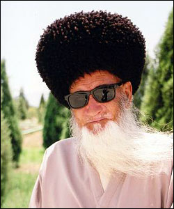 Portrait - man in Turkmenistan