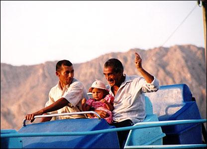 Amusement park in Turkmenbashi