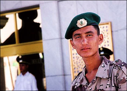 Soldier in Turkmenistan