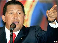 Hugo Chavez, Venezuelan President