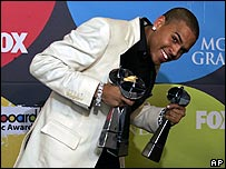 Chris Brown at the Billboard Awards