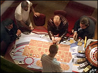 Gamblers in Moscow