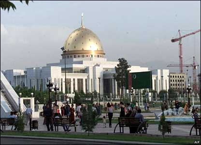 Presidential palace in central Ashgabat