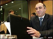 Azeri Foreign Minister Elmar Mammadyarov