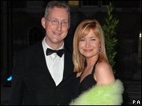 Lembit Opik MP with former girlfriend weather presenter Sian Lloyd