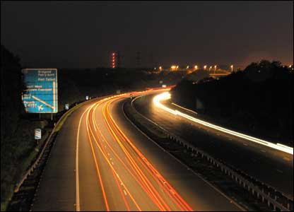 View of the M4 near Cardiff Gate services (Tom Dyer, Dinas Powys)