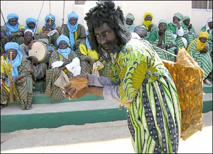 Jester to the Emir of Zazzau in northern Nigeria