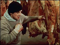 Sylvester Stallone in the original Rocky