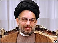 Abdel Aziz al-Hakim, head of Supreme Council of the Islamic Revolution in Iraq (file: 4 December)