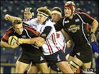 Mike Blair leads an Edinburgh attack at Murrayfield